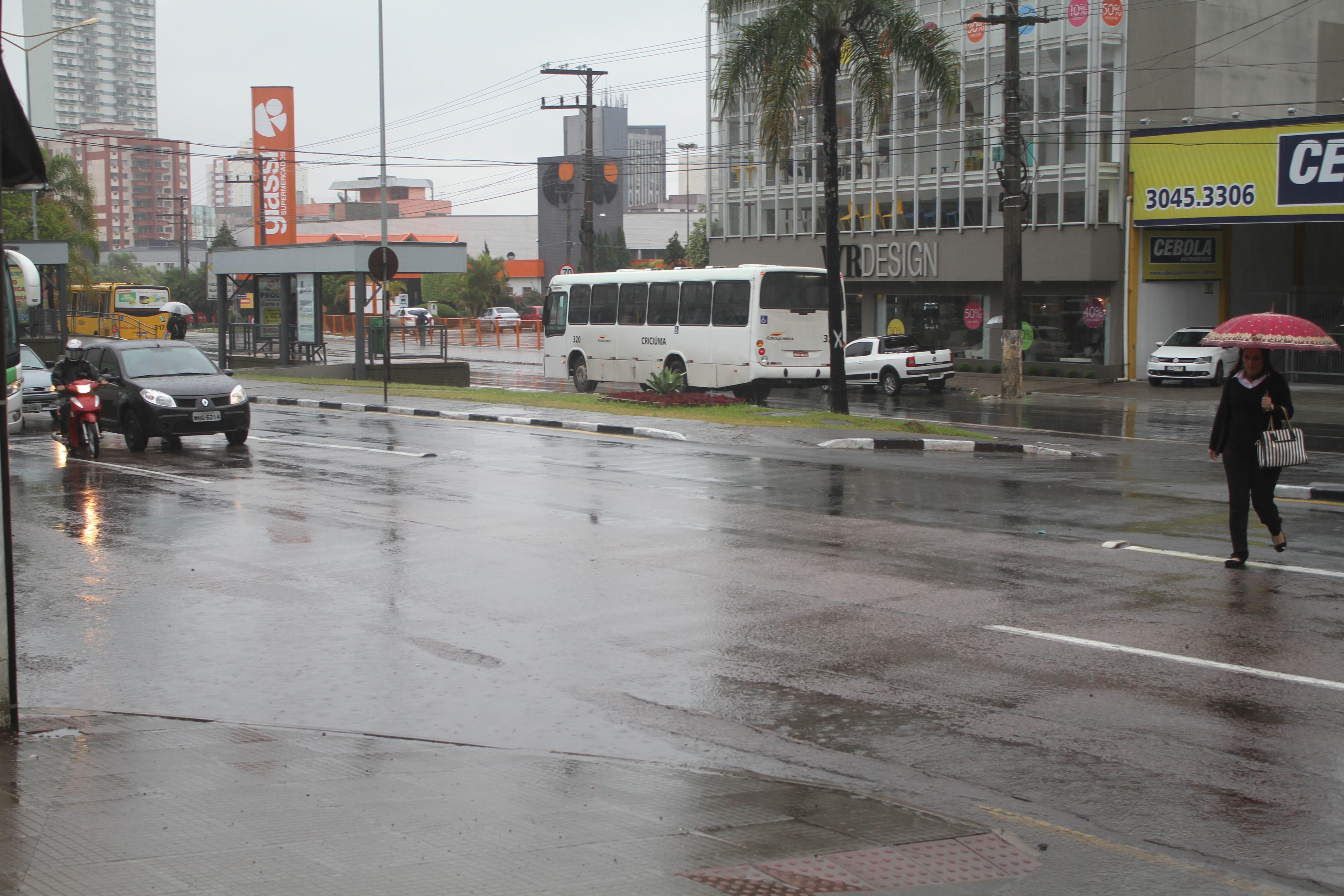Frente fria deve chegar a Santa Catarina no domingo