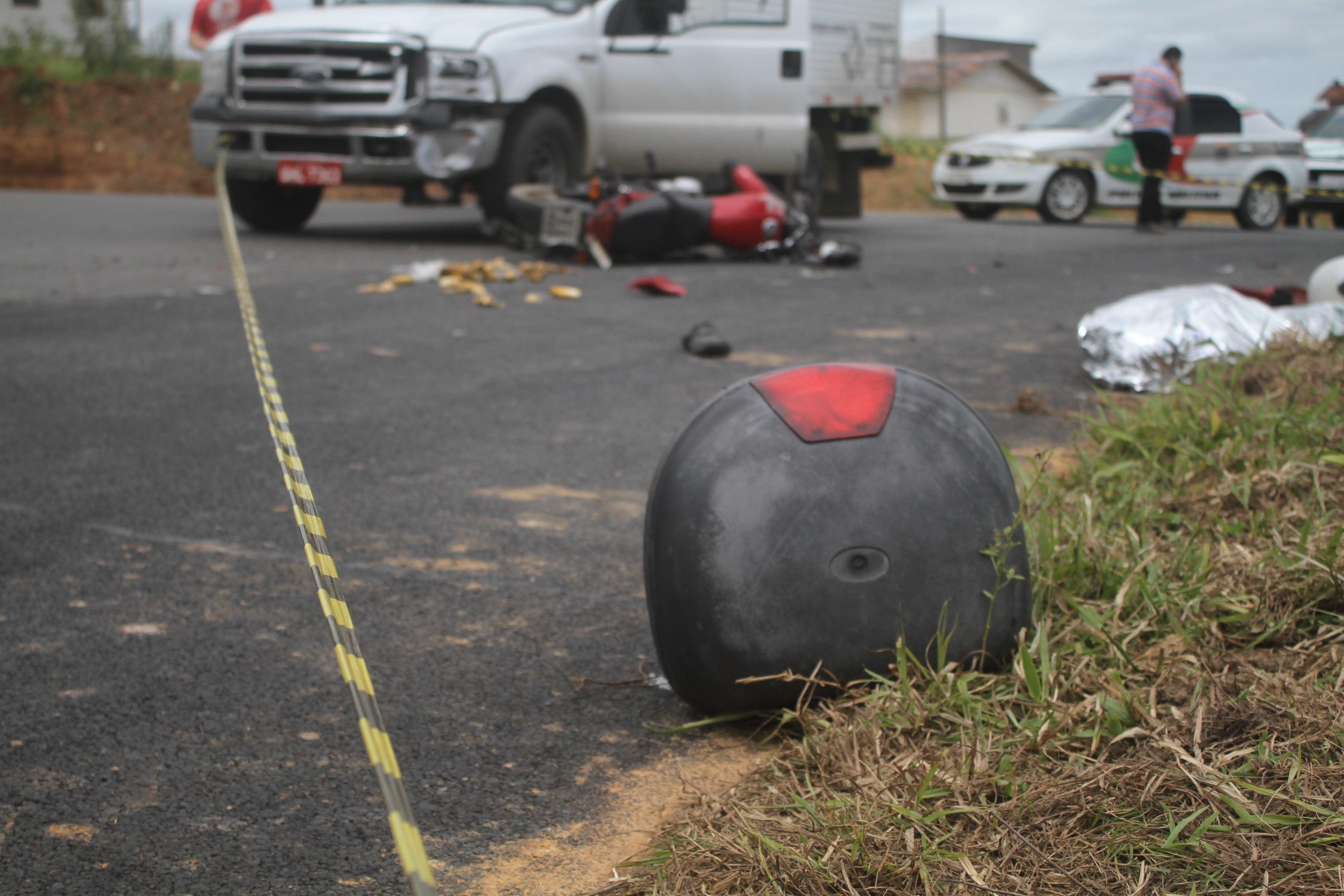 Mesmo bloqueada, jovem morre em acidente em Via Rápida — Içara