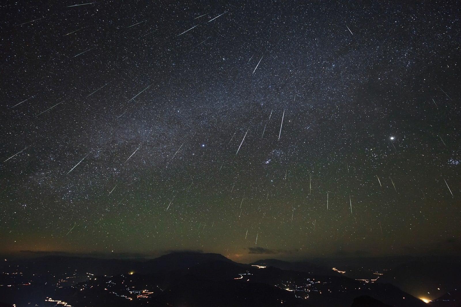 Chuva de estrelas cadentes poderá ser vista nesta madrugada