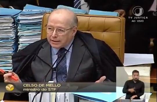 Celso de Mello responde a general: