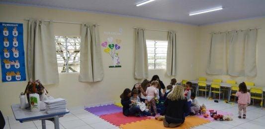 [Morro da Fumaça: CEI Honorata Pavei Maccari conta com novas salas]