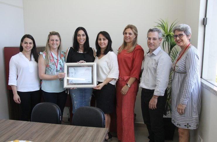 [Criciúma: Afasc recebe título de indicação ao prêmio Darcy Ribeiro de Educação]