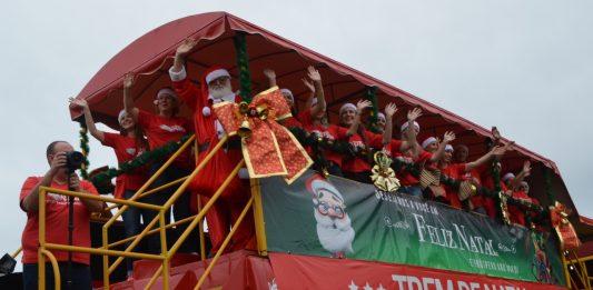 [Siderópolis: Trem de Natal da Ferrovia Tereza Cristina chega nesta quarta-feira]