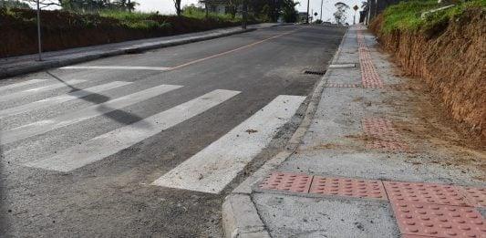 [Siderópolis: finalizada pavimentação asfáltica da rua Roberto Rosso]